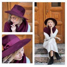 Pupulandia hat & Triangolo Fiord Scarf worn by Jenni Rotonen