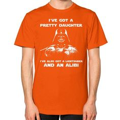 Fashions dvdaughter Unisex T-Shirt (on man)
