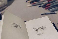 Face/eyes study