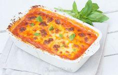 Gegratineerde mozzarella-gnocchi