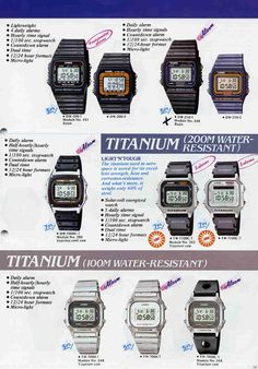 if the and 110 count as g-shock than why not the anyone have a Wrist Watches, Watches For Men, Titanium Watches, Game & Watch, Amazing Watches, G Shock, Digital Watch, Casio Watch, Seiko