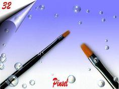 Nailart, Office Supplies, Acetone, Nail Studio, Brushes