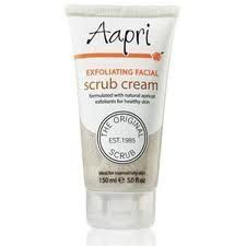 Aapri Exfoliating Facial Scrub Cream 150ml 5.0 Fl.oz. by Keyline Brands, http://www.amazon.com/dp/B005JC6E3G/ref=cm_sw_r_pi_dp_5sWNqb013BQ67
