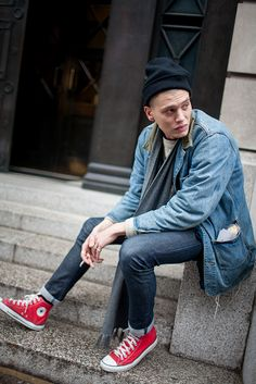 Men's Street Style: London Fall Collections Tokyo Fashion, Dope Fashion, Cool Street Fashion, Fashion Killa, New York Fashion, Street Style Women, Fashion News, Fashion Trends, Fashion Styles