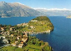 view of the promontory..Lake Como