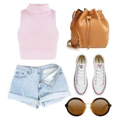 """""""Untitled #19"""" by ettadance56 ❤ liked on Polyvore featuring Sole Society and Converse"""