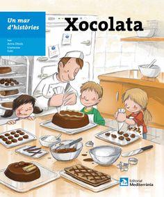 NOVETATS-2015. ESPECIAL ALIMENTACIÓ. Anna Obiols. Xocolata. Llibre recomanat.