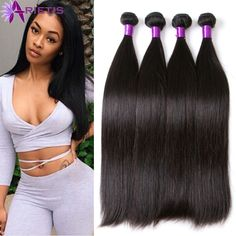 Brazilian Virgin Hair Straight 8A Unprocessed Virgin Hair Weft Cheap Brazilian Hair 4Bundles Human Hair Extensions Can Be Curled http://jadeshair.com/brazilian-virgin-hair-straight-8a-unprocessed-virgin-hair-weft-cheap-brazilian-hair-4bundles-human-hair-extensions-can-be-curled/ #HairWeaving