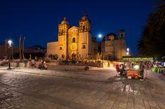 Iglesia de Santo Domingo de Guzmán, Oaxaca, México.