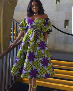 These are the most elegant ankara gown styles there are today, every lady who loves ankara gowns should see these ankara gown styles of 2019 African Dresses For Women, African Print Dresses, African Attire, African Fashion Dresses, African Wear, African Women, African Prints, Ankara Fashion, African Style