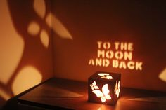 To the Moon and Back Anniversary Gift Boyfriend Gift by MagicWoOod