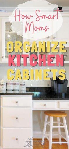Kitchen Organization Pantry, Diy Kitchen Storage, Kitchen Pantry, Kitchen Items, Organization Ideas, Storage Ideas, Kitchen Hacks, Kitchen Organizers, White Kitchen Cabinets