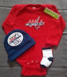 25fe8abe0 Washington capitals champions Baby outfit Washington capitals stanley cup  Baby gift Washington capitals take home capitals baby