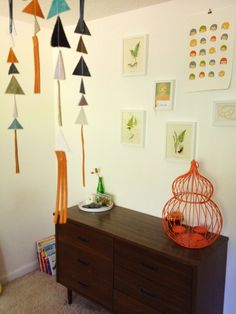 When I created Fern's nursery, I was inspired by the Montessori principles of creating an environment that is child-centric and created for exploration.