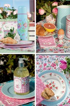 Dots and flowers in lovely pastels from Greengate