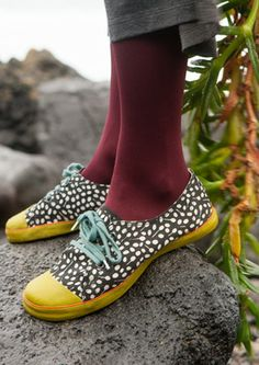 """""""Berberis"""" cotton twill sneakers. – Gudrun's Oslo wardrobe – GUDRUN SJÖDÉN – Webshop, mail order and boutiques   Colorful clothes and home t..."""