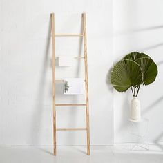 Tenebras Dressing Ladder - White Ash #westelm