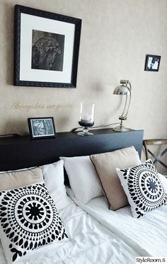 makuuhuone,makuuhuoneen sisustus,makuuhuoneen tekstiilit