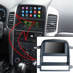 6.2 inch Android Car GPS Navigation for Chevrolet Captiva 2008-2011 Car Video Player Support WiFi Bluetooth Mirror-link