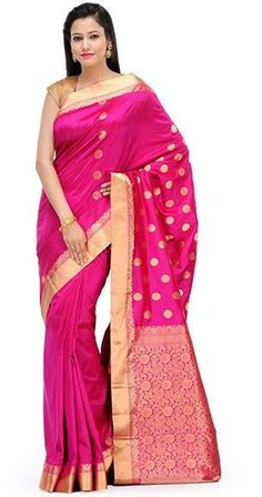 magenta-silk-women-saree-today-online-shopping-offers-yepme