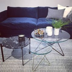 O Table Glas soffbord 80cm - OX Denmarq - Dennys Home