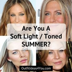 Are You A Toned Summer? (Soft Summer Light)