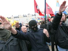 . @oscar martinez @carlbildt  No Nazis in West Ukraine? It's full of them.    (See pic.) pic.twitter.com/TAkmjsOTGt