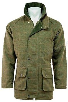 Mens Moleskin Quilted Hunting//Walking// Fishing// Shooting Country Quilted Jacket