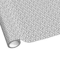 Silver and White Retro Squares Wrapping Paper for you at www.zazzle.com/superdumb*