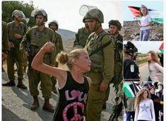 Ahed Tamimi (16 lat) - symbol antyfaszystowskiego oporu Palestyńczyków wobec syjonistów z Izraela. Została właśnie bezprawnie aresztowana!