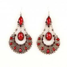 $4.31 Pair of Bohemian Openwork Women's Waterdrop Shape Earrings