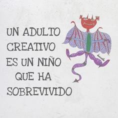 Esta frase de Ursula K. LeGuin y el dibujo de Dario nos encantan.