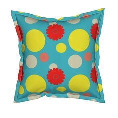 Shop unique pillows, tea towels, cloth napkins, and more designed by independent artists from around the world. Throw Cushions, Ditsy, Custom Fabric, Spoonflower, Farmhouse, African, Turquoise, Wallpaper, Modern