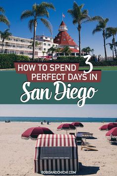 Have an upcoming San Diego getaway or looking for an excuse for a San Diego getaway? We have put together the perfect 3 day itinerary for San Diego to help San Diego Vacation, San Diego Travel, San Diego Trip, San Diego Beach Hotels, Mission Beach San Diego, Pacific Beach San Diego, Visit San Diego, San Diego Food, California Getaways