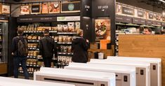The technology inside Amazon's new convenience store, opening Monday in downtown Seattle, enables a shopping experience like no other — including no checkout lines.