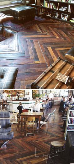THE RUFFLE HOUSE: Project It: WOOD PALLET FLOOR