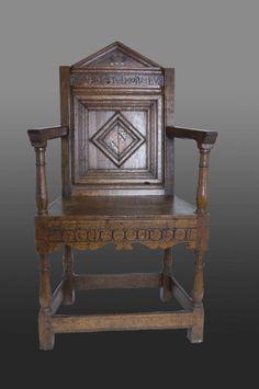 16th century armchair, Marhamchurch antiques