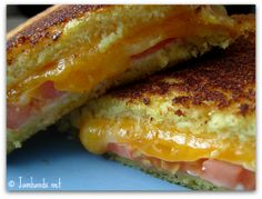Grilled Tomato and Cheese Sandwich at www.jamhands.net