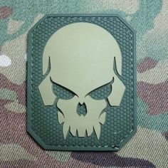 Pirate Skull 3D PVC Tactical Military Badge US Army Morale Multicam Velcro Patch | eBay