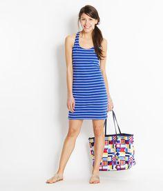 Shop Dresses: Stripe Bow Dress for Women | Vineyard Vines