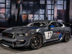 Bereit Für Exzessiven Motorsport: Das Neue Ford Mustang GT4 Race Car