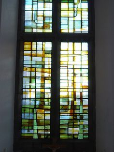 contemporary stained glass | more modern stained glass | Flickr - Photo Sharing!