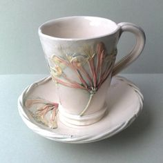 Honeysuckle Cup and Saucer