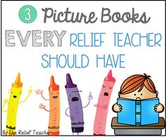 Checkout my latest blog post which shares the top 3 picture books I could not live without! For each book I've provided engaging accompanying lesson ideas, all of which are FREE! Do my books match your top 3?