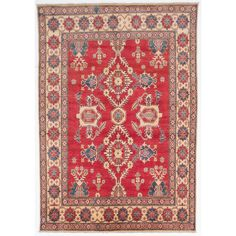 Ecarpetgallery Hand-knotted Finest Gazni Wool Rug