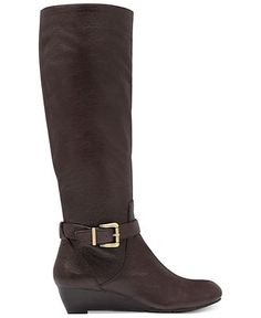dark brown. Jessica Simpson Boots, Becki Wedge Boots - Shoes - Macy's