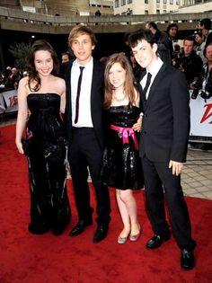 Anna, Will, Georgie and Skander