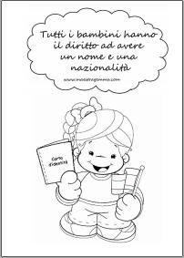 1000 images about scuola filastrocche e poesie on for Maestra gemma diritti dei bambini