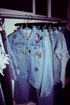 Jackets // grunge // denim
