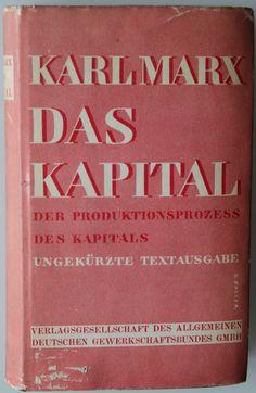 Karl Marx: Das Kapital. Kritik der politischen Ökonomie (Capital: Critique of Political Economy) 1867